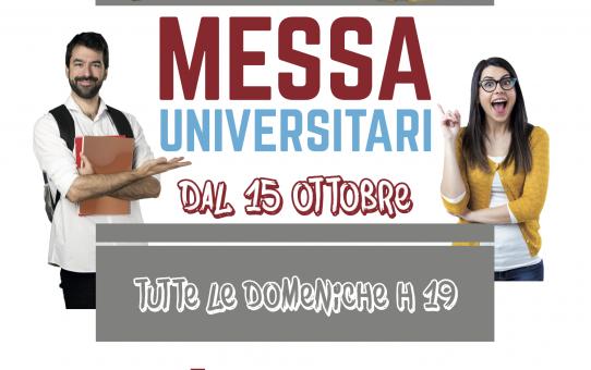 locandina messa universitari